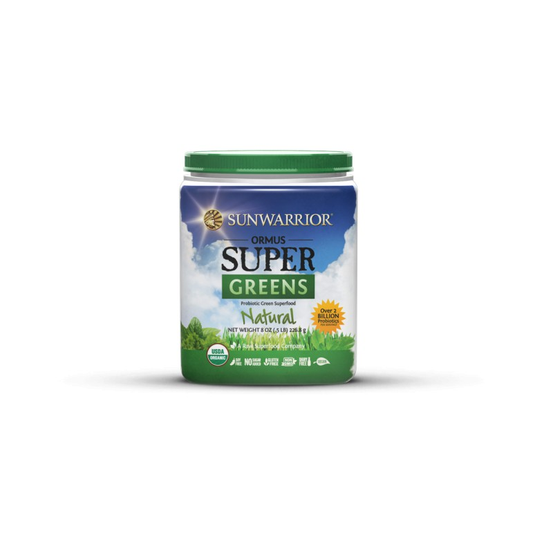 Sunwarrior Ormus Super Greens Natural BIO 454g