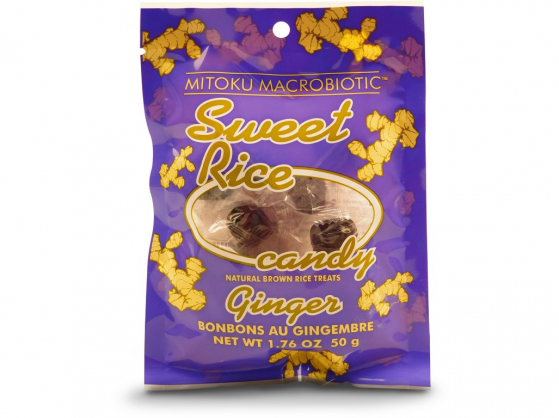 SUNFOOD Sweet rice candies Zázvor 11ks