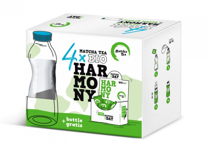 Matcha Tea Harmony 4pack 240g