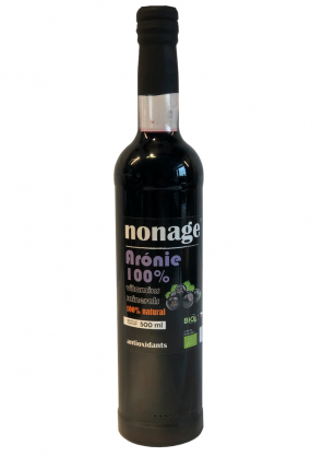 nonage Premium Aronia 100% juice BIO 500ml