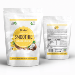 Fit-day smoothie banán-kokos 90g