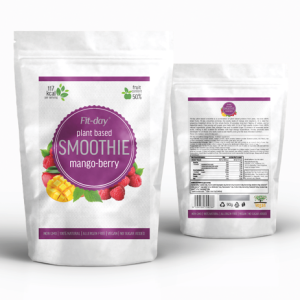Fit-day smoothie mango-malina 90g