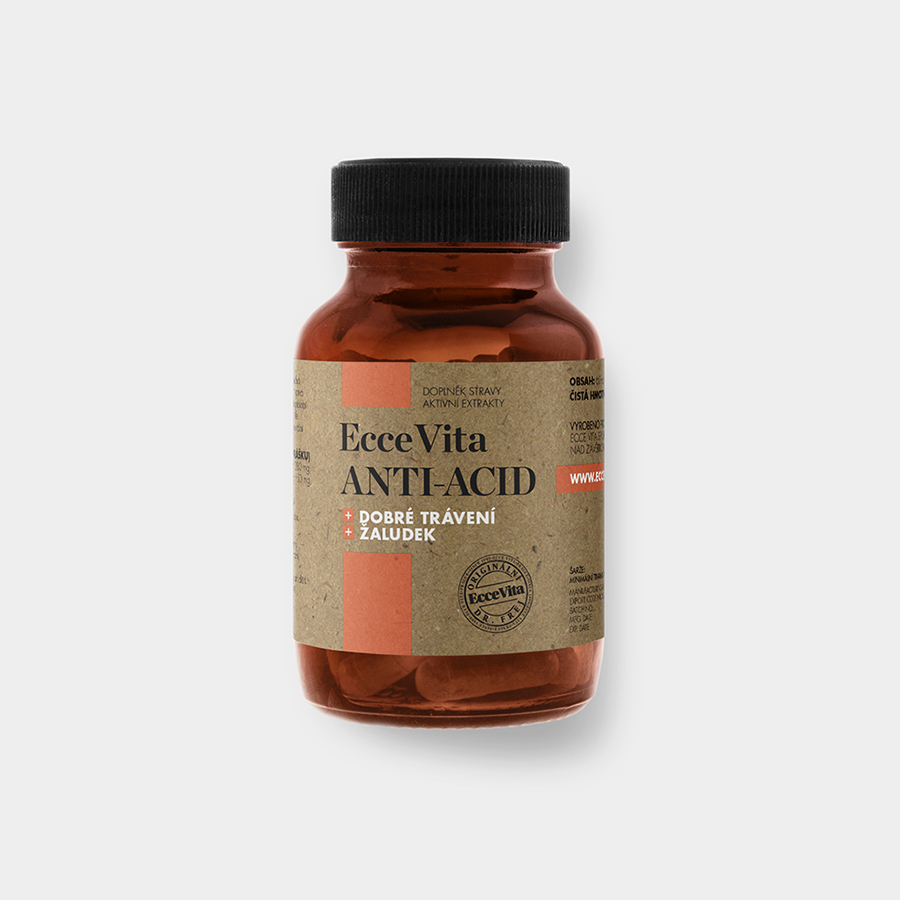 ECCE VITA Anti-Acid 60 kapsúl