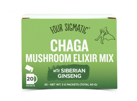 Four Sigmatic Food Chaga + Siberian Ginseng Mushroom Mix 20 vrecúšok