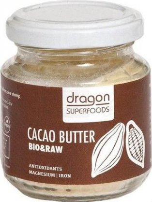 Dragon Superfoods Kakaové maslo 100g BIO RAW